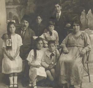 Christian Arab Family, Jerusalem, 1926. Courtesy Ray Hanania