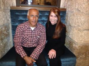 Vanunu and Eileen, 24 Nov. 2013