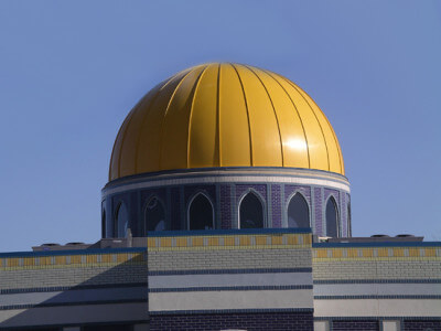 Bullet hit Orland Mosque dome, Orland Park police confirm