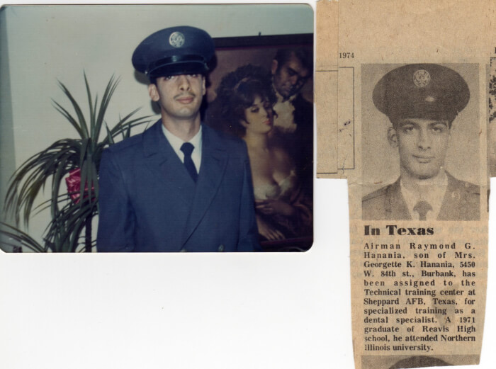 After completing Basic Training in the US Air Force during the Vietnam War