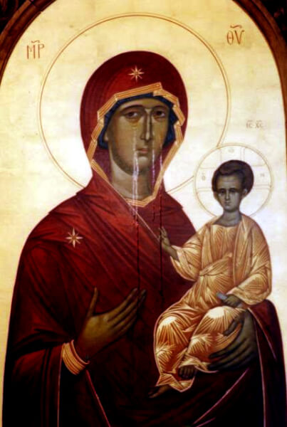 Cicero Orthodox Church celebrates 20 year anniversary of Miraculous Weeping Icon of the Virgin Mary