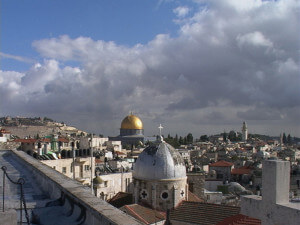 Christian religious presence imposes itself in Jerusalem despite pressures from all sides. Photo courtesy of Ray Hanania