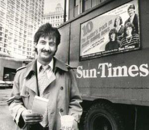 Ray Hanania, Chicago City Hall reporter, 1977-1992