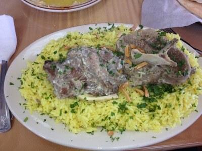 Ziyad mansaf plate