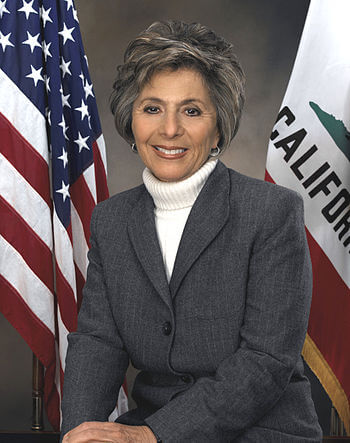 Barbara Boxer, United States Senator from Cali...