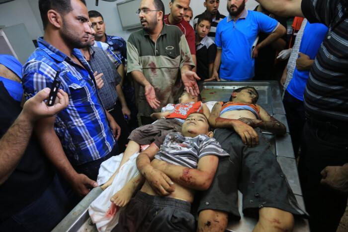 Obama, Kerry silent on murdered Gaza children, civilians in latest war crime