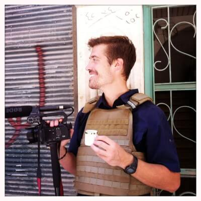 James Foley from his Facebook Page
