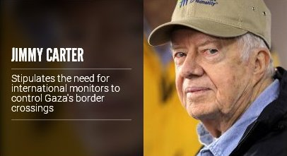 Israelis should appreciate President Jimmy Carter