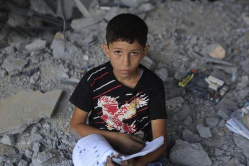 Save the Children urges end to Gaza blockade