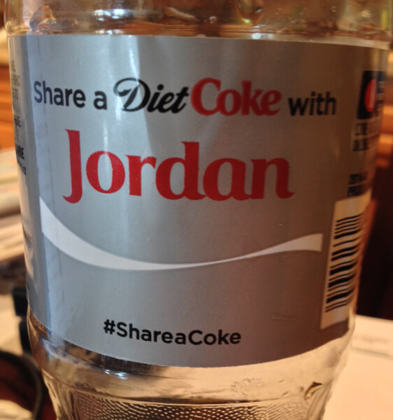 Coca Cola's Name campaign is not #ShariaCoke but #Shareacoke