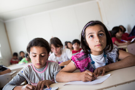 UNICEF launches Global Appeal for Displaced Syrian Children with Western Union