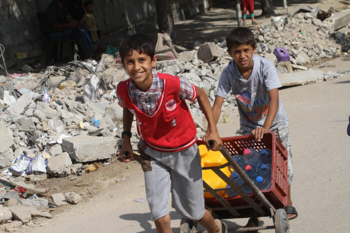Palestinian civilians determined to rebuild lives in face of Israeli Gaza war crimes