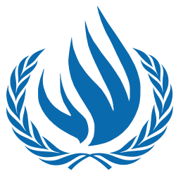 United Nations Human Rights Council logo.
