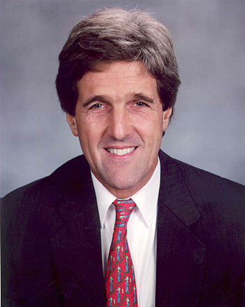 U.S. Senator John Kerry of Massachusetts