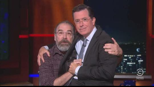 Mandy Patinkin for Israeli Prime Minister Stephen Colbert for SECURITY