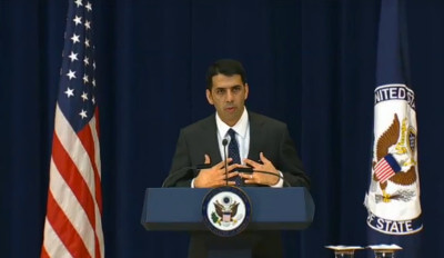US State Department Special Representative to Muslim Communities Shaarik Zafar
