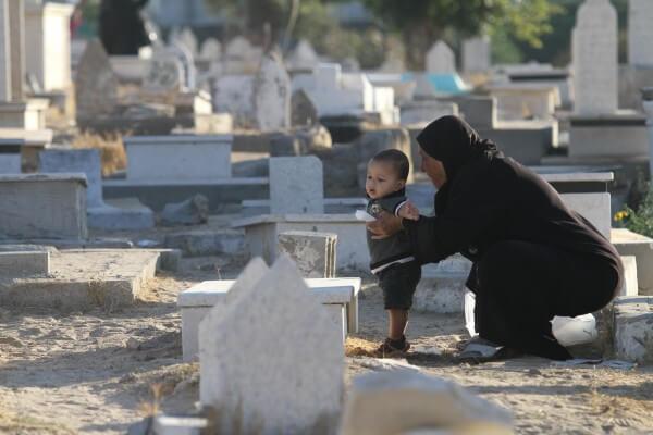 Palestinians enjoy the Eid al Adha despite devastation caused by Israel
