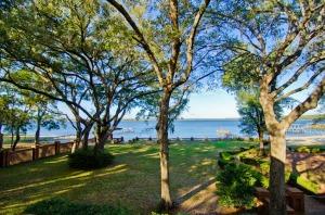 Amrit Yoga Institute lake view