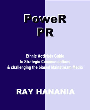 Hanania releases new book on PoweR PR strategies for Minorities