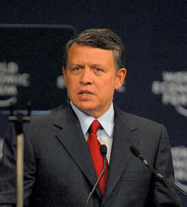 King Abdullah II of Jordan, Wikipedia
