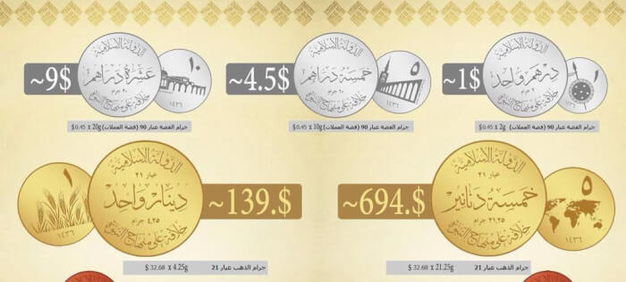 ISIS Will Make its Own Currency, in Gold