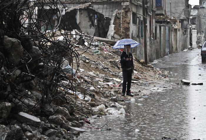 Weather brings more challenges to victims of Israeli war crimes