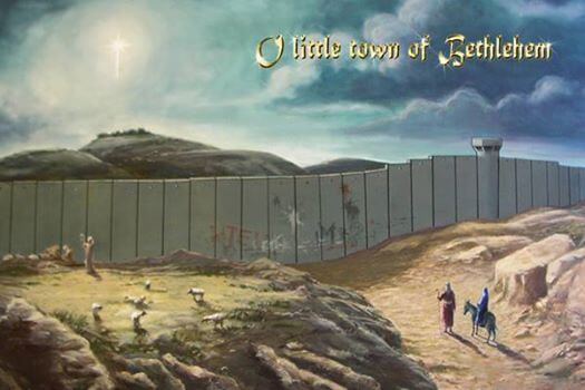 Israel's Wall in the Little Town of Bethlehem