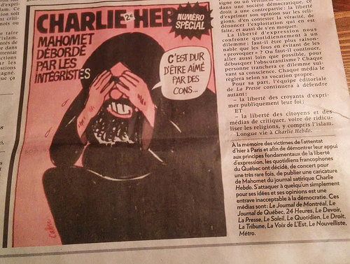 Charlie Hebdo, terrorism and the debate on morality
