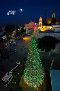 Bethlehem at Christmas, from Maria Khoury in Palestine