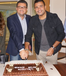 Jean Claude Farah President- Middle East, Africa, Asia Pacific, Eastern Europe and CIS, Western Union and Amr Diab