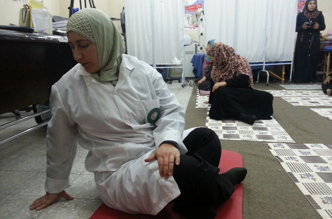 Healing Gaza Palestine Israel with Yoga and Physicians for Social Responsibility