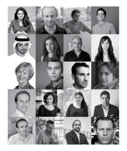 Art Dubai March 2015 exhibit speakers