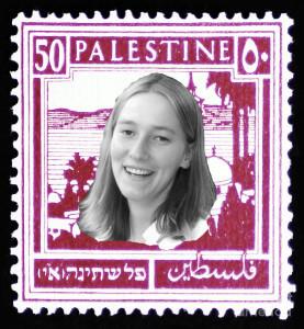 Rachel Corrie Palestine Stamp