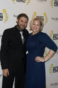 "Eliyahu and Pennie Ungar-Sargon, filmmakers and winners of the Pasadena International Film Festival for their documentary ""A People without a Land"""