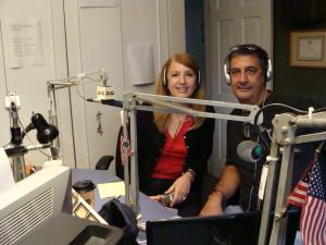 Ray Hanania interviews Nadia Hilou, October 7, 2008 on Morning Radio