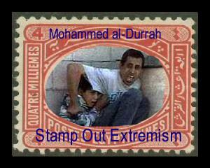 Mohammed al-Durrah Egypt Stamp