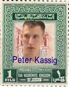 Peter Kassig Jordan Stamp