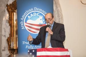 Arab American Democratic Club President Samir Khalil. Khalil's Facebook Page.
