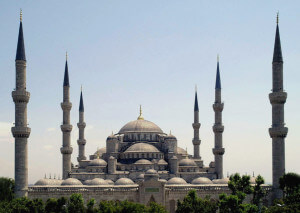 The Sultan Ahmed Mosque Istanbul, Turkey