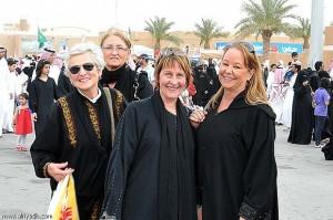 Western females working and enjoying living in Riyadh, Saudi Arabia
