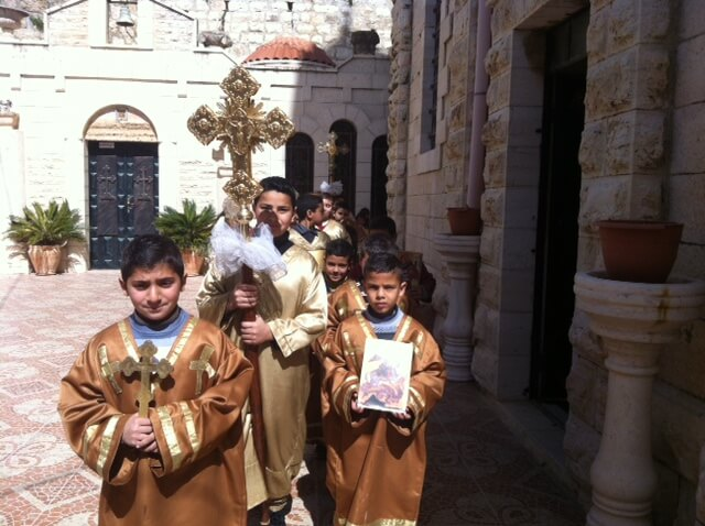 Sunday of Orthodoxy Celebrated in Taybeh, Palestine