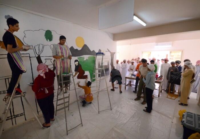 Chicago painter leaves mark in United Arab Emirates
