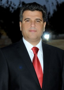 Journalist Mohammed Najib, based in Ramallah, Palestine