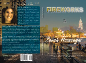 Sarah Houssayni Lebanese author, new book Fireworks
