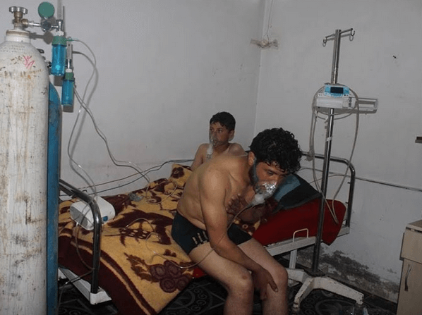 Doctors protest 5 recent chemical attacks in Syria