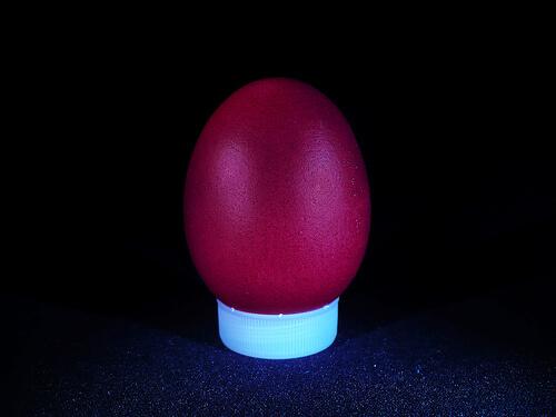 Orthodox Easter egg photo