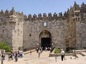 Damascus Gate entrance