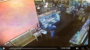 Saj Cafe & Bakery, Dearborn Heights, Robbery video April 2015