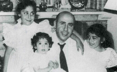 Palestinian Arab American Alex Odeh, with his children, was murdered in 1985. The killing has never been solved.