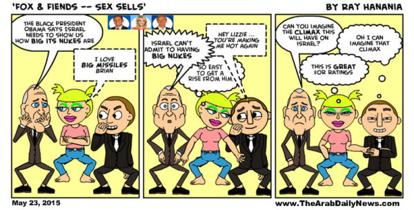 FOX & Fiends Comic Strip, Episode 1. Meet our Fox & Fiend anchors: Brian UrKillingme, Elisatits Hasselfrick and Steve Doofus